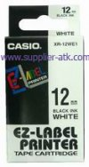 Label casio EZ 12